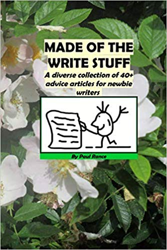 Made of the Write Stuff by Paul Rance - Paperback Cover