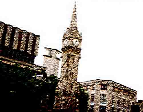 Leicester Clock Tower Photoshopped